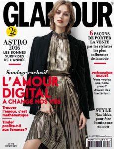 Glamour France – Janvier, 2016 [PDF]