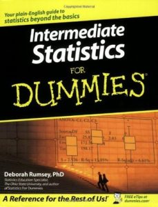 Intermediate Statistics for Dummies – Deborah Rumsey [PDF] [English]