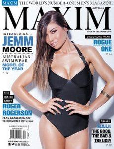 Maxim Australia – December, 2016 [PDF]