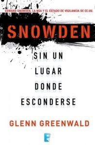 Snowden. Sin un lugar donde esconderse – Glenn Greenwald [ePub & Kindle]