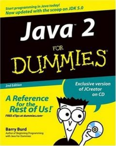 Java 2 for Dummies (2nd Edition) – Barry Burd [PDF] [English]