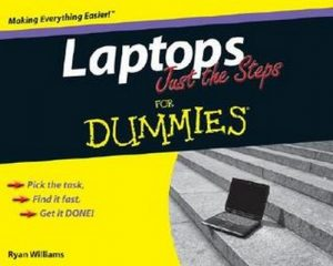 Laptops Just the Steps for Dummies – Ryan Williams [PDF] [English]