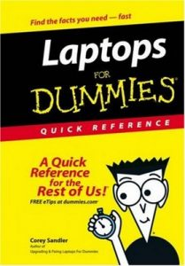 Laptops for Dummies QUICK REFERENCE – Corey Sandler [PDF] [English]