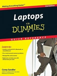 Laptops for Dummies QUICK REFERENCE (2nd Edition) – Corey Sandler [PDF] [English]