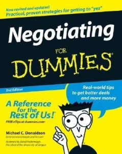 Negotiating for Dummies (2nd Edition) – Michael C. Donaldson [PDF] [English]