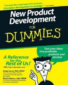 New Product Development for Dummies – Robin Karol, Beebe Nelson [PDF] [English]