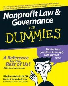 Nonprofit Law & Governance for Dummies – Jill Gilbert Welytok, Daniel S. Welytok [PDF] [English]