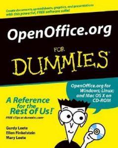 OpenOffice.org for Dummies – Gurdy Leete, Ellen Finkelstein, Mary Leete [PDF] [English]
