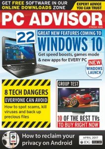 PC Advisor UK – April, 2017 [PDF]