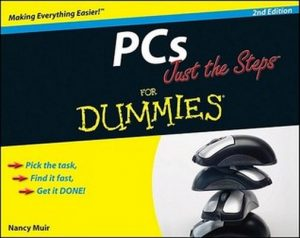 PCs Just the Steps for Dummies (2nd Edition) – Nancy Muir [PDF] [English]