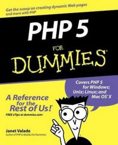 PHP 5 for Dummies – Janet Valade [PDF] [English]