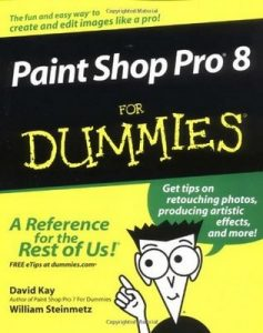 Paint Shop Pro 8 for Dummies – David Kay, William «The Ferrett» Steinmetz [PDF] [English]