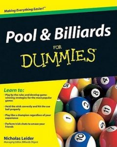 Pool and Billiards for Dummies – Nicholas Leider [PDF] [English]