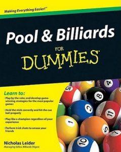 Pool and Billiards for Dummies – Nicholas Leider [PDF] [English]