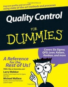 Quality Control for Dummies – Larry Webber, Michael Wallace [PDF] [English]