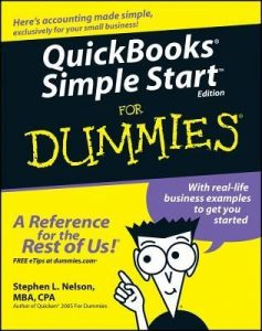 QuickBooks Simple Start for Dummies – Stephen L. Nelson [PDF] [English]