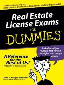 Real Estate License Exams for Dummies – John A. Yoegel [PDF] [English]