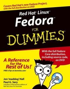Red Hat Linux Fedora for Dummies (6th Edition) – Jon Hall, Paul G. Sery [PDF] [English]