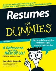 Resumes for Dummies (5th Edition) – Joyce Lain Kennedy [PDF] [English]
