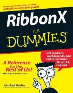 RibbonX for Dummies – John Paul Mueller [PDF] [English]