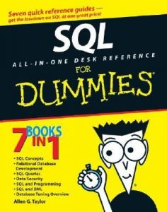 SQL All-in-One Desk Reference for Dummies – Allen G. Taylor [PDF] [English]