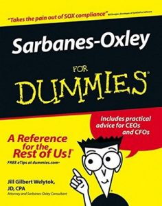Sarbanes-Oxley for Dummies – Jill Gilbert Welytok [PDF] [English]