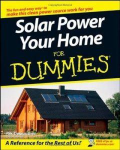 Solar Power Your Home for Dummies – Rik DeGunther [PDF] [English]