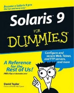 Solaris 9 for Dummies – Dave Taylor [PDF] [English]