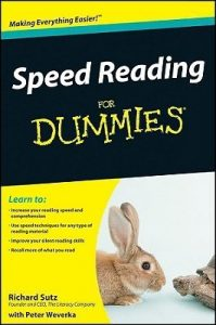 Speed Reading for Dummies – Richard Sutz, Peter Weverka [PDF] [English]