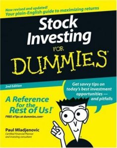 Stock Investing for Dummies (2nd Edition) – Paul Mladjenovic [PDF] [English]