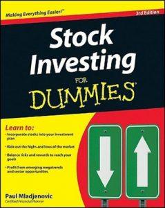Stock Investing for Dummies (3rd Edition) – Paul Mladjenovic [PDF] [English]