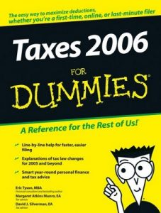Taxes 2006 for Dummies – Eric Tyson, Margaret Atkins Munro, David J. Silverman [PDF] [English]