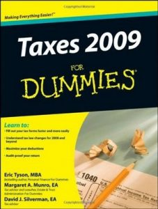 Taxes 2009 for Dummies – Eric Tyson, Margaret Atkins Munro, David J. Silverman [PDF] [English]