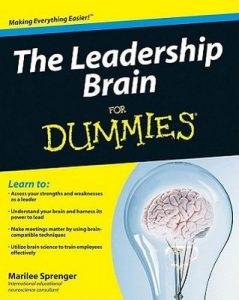 The Leadership Brain for Dummies – Marilee Sprenger [PDF] [English]