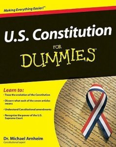 U.S. Constitution for Dummies – Michael Arnheim [PDF] [English]