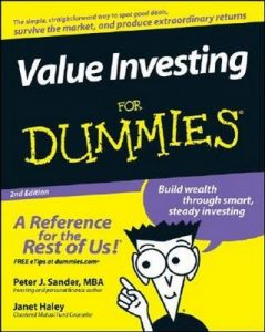Value Investing for Dummies (2nd Edition) – Peter J. Sander, Janet Haley [PDF] [English]
