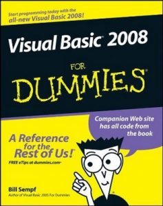 Visual Basic 2008 for Dummies – Bill Sempf [PDF] [English]