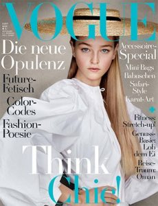 Vogue Germany – Marz, 2017 [PDF]