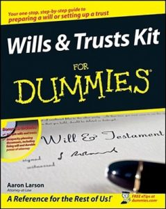 Wills and Trusts Kit for Dummies – Aaron Larson [PDF] [English]