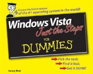 Windows Vista Just the Steps for Dummies – Nancy Muir [PDF] [English]