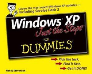Windows XP Just the Steps for Dummies – Nancy Stevenson [PDF] [English]