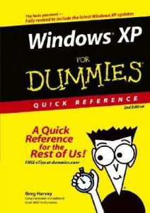 Windows XP for Dummies Quick Reference (2nd Edition) – Greg Harvey [PDF] [English]