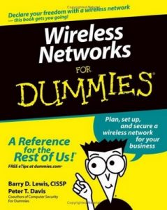 Wireless Networks for Dummies – Barry Lewis, Peter T. Davis [PDF] [English]