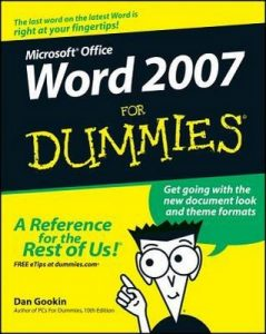 Word 2007 for Dummies – Dan Gookin [PDF] [English]