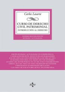 Curso de Derecho Civil patrimonial (Derecho – Biblioteca Universitaria De Editorial Tecnos) – Carlos Lasarte [ePub & Kindle]