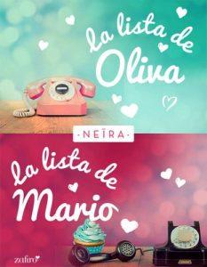 La lista de Oliva y la lista de Mario (Oliva y Mario) – Neira [ePub & Kindle]