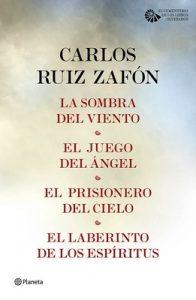 Tetralogía El Cementerio de los Libros Olvidados (pack) – Carlos Ruiz Zafón [ePub & Kindle]
