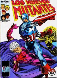 New Mutants (1983-1991) #40, #41 Parte 1 [PDF]