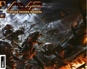 Aliens vs Predator – Tercera Guerra Mundial #1 (2010) [PDF]