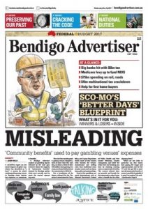 Bendigo Advertiser – May 10, 2017 [PDF]